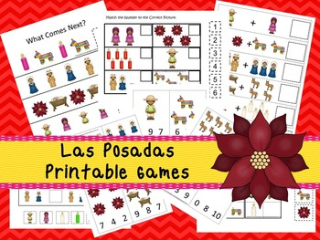30 Las Posadas Games Download. Games and Activities in PDF files.