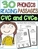 30 (Long and Short Vowel CVC and CVCe) Passages