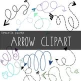 30 Loopy Arrow Clipart by Taracotta Sunrise