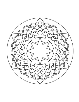 30 Mandala Coloring Pages For Children