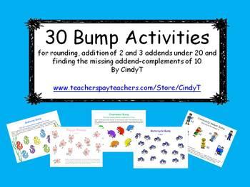 30 Math Bump Activities