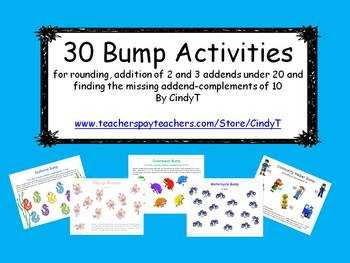 30 Math Bump Activities