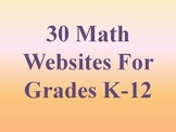 30 Math Websites