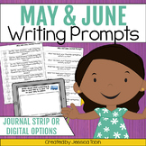 Writing Prompts for May and June Writing