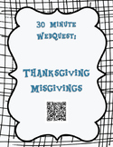 30 Minute Thanksgiving WebQuest