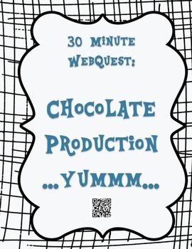 30 Minute Webquest- Chocolate Production