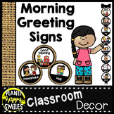 30+ Morning Greeting Choices Burlap Theme