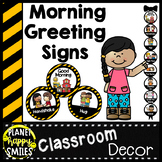 30+ Morning Greeting Choices Construction Theme