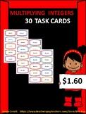 30 Multiplying Integer Task Cards