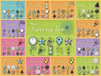 30 New Year's Eve Bingo Cards