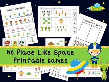 30 No Place Like Space Games Download. Games and Activities in PDF files.