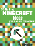 30+ (No Prep) Minecraft Ideas You Can Do Tomorrow