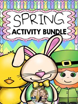 30+ No Prep Spring Activity Bundle