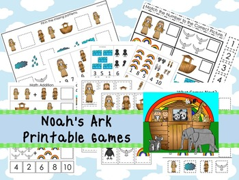 30 Noah's Ark themed Printable Games and Activities. Chris