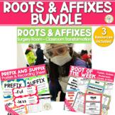 Root Words Prefixes and Suffixes Activities - Bundle TEST PREP