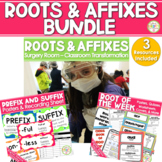 Root Words Prefixes and Suffixes Activities - Bundle TEST PREP