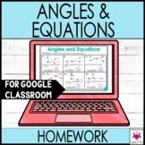 Complementary Supplementary & Vertical Angles Worksheets G