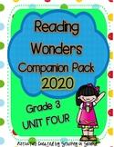 Reading Wonders 2020 Companion Pack Grade 3 UNIT FOUR BUNDLE
