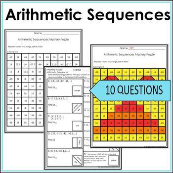 Geometric Sequences Activity and Arithmetic Sequences Activity