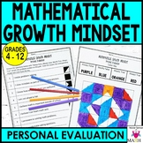 Math Growth Mindset Personal Evaluation