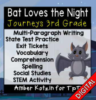 Bat Loves the Night Ultimate Bundle: Third Grade Journeys