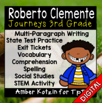 Roberto Clemente Ultimate Bundle: Third Grade Journeys
