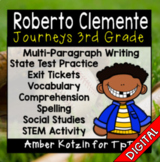 Roberto Clemente Ultimate Pack: Third Grade Journeys - Distance Learning
