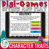 Character Trait Digital Review Activity | Distance Learning