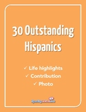 30 Outstanding Latinos - Hispanic Heritage Month (English