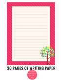 30 Pages of Writing Paper Stationary