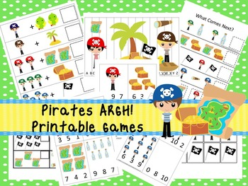 30 Pirates Games Download. Games and Activities in PDF files.