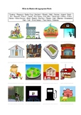 30 Places in a City - A Worksheet