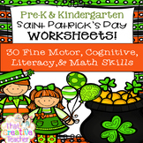 30 Pre-K & Kindergarten St. Patrick's Day Worksheets