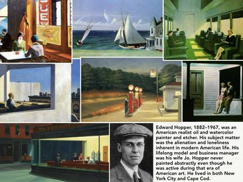 30 Printable ART CARDS -  American Artists - Art History - AMERICA ART