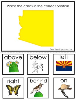 30 Printable Arizona State Symbols themed Learning Games Download. ZIP file.