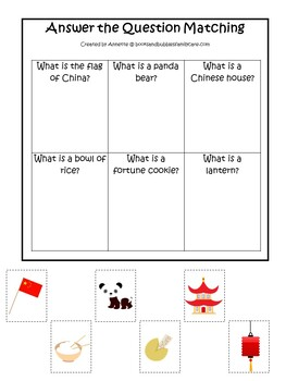 30 Printable China themed Preschool Learning Games Download. ZIP file.