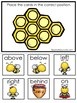 30 Printable Honey Bees Preschool Learning Games Download. ZIP file.