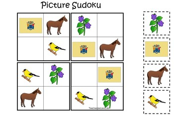 30 Printable New Jersey State Symbols themed Learning Games Download. ZIP fi