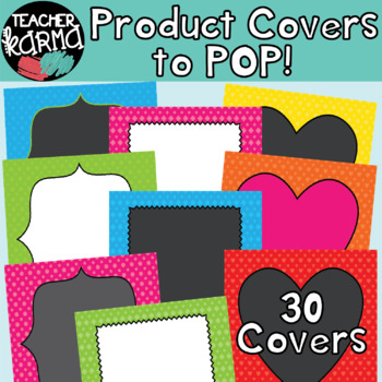 30 Product Covers / Design Templates to POP