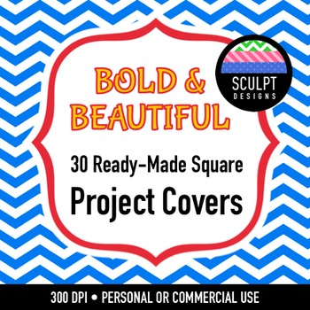 30 Project Covers - Bold Colors