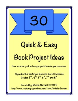 30 Quick & Easy Book Projects Ideas
