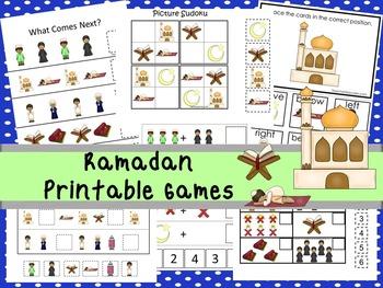 30 Ramadan Games Download. Games and Activities in PDF files.