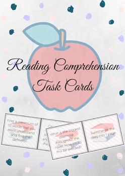 30 Reading Comprehension/Story Starter Task Cards