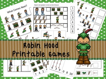 30 Robin Hood Games Download. Games and Activities in PDF files.