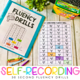 30 Second Fluency Drills {Self-recording}