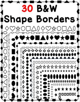 30 Shape Borders