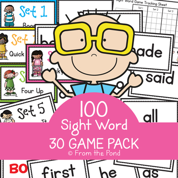 Sight Word Games - 30 Game Activity Pack