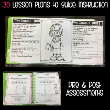 Guided Reading: Level C: NO PREP Lesson Plans & Activities for Small Group