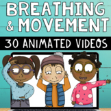 30 Social Emotional Learning Self-Regulation Breaks Mindfulness Breathing Videos