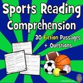 30 Sports Reading Comprehension Passages: Fun SPRING Readi